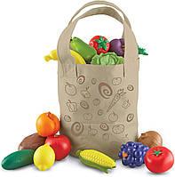 Ігровий набір овочів і фруктів Learning Resources