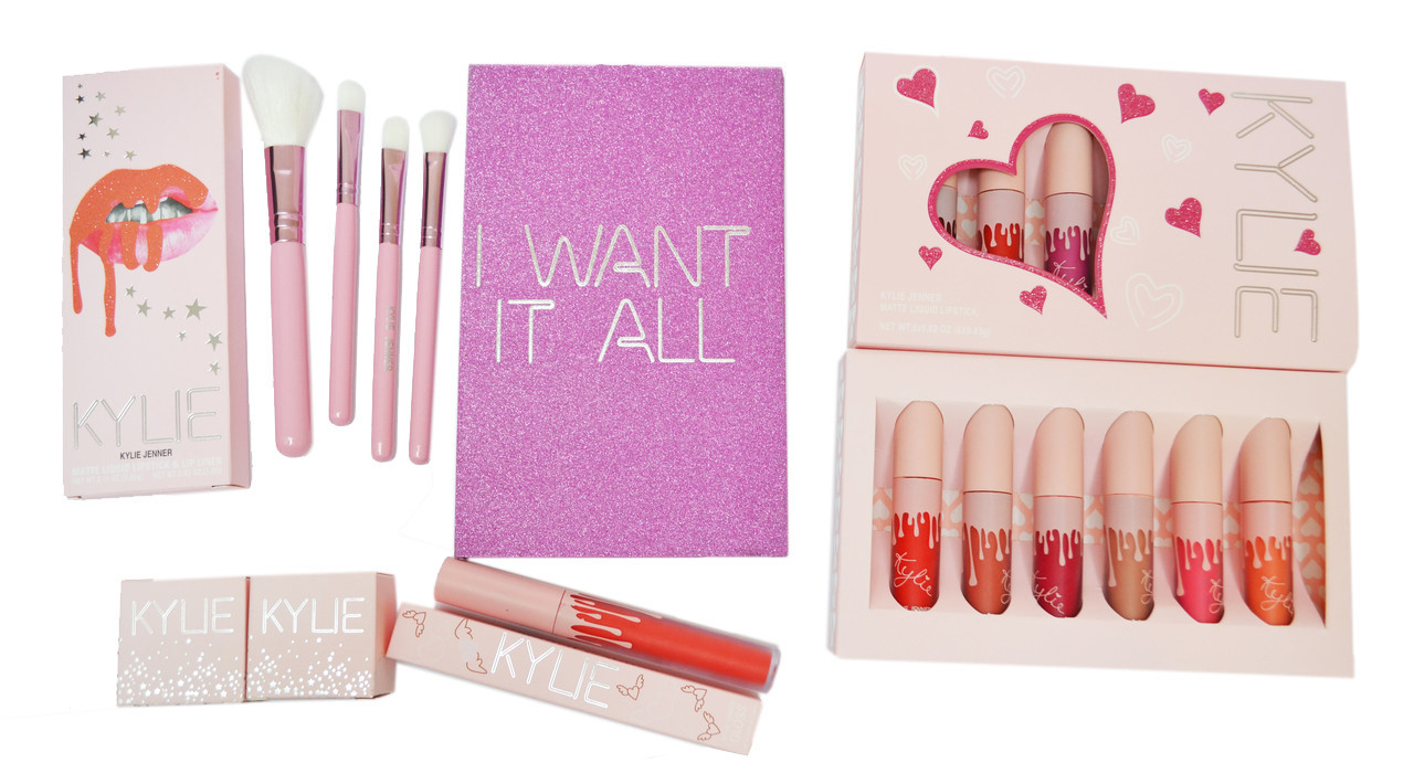 Подарочный косметический набор KYLIE JENNER Pink