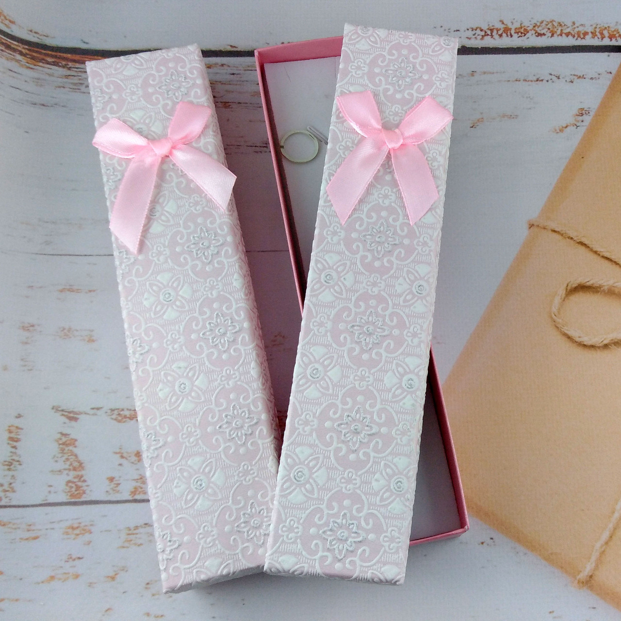 Подарочная коробочка для браслетов BEAUTY Светло Розовая