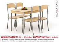 Кухонный комплект LONGIN стол + 4 кресла