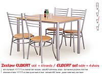 Кухонный комплект ELBERT стол + 4 кресла