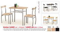Кухонный комплект LANCE стол + 2 кресла
