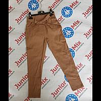 Детские котоновые цветные брюки для девочек оптом