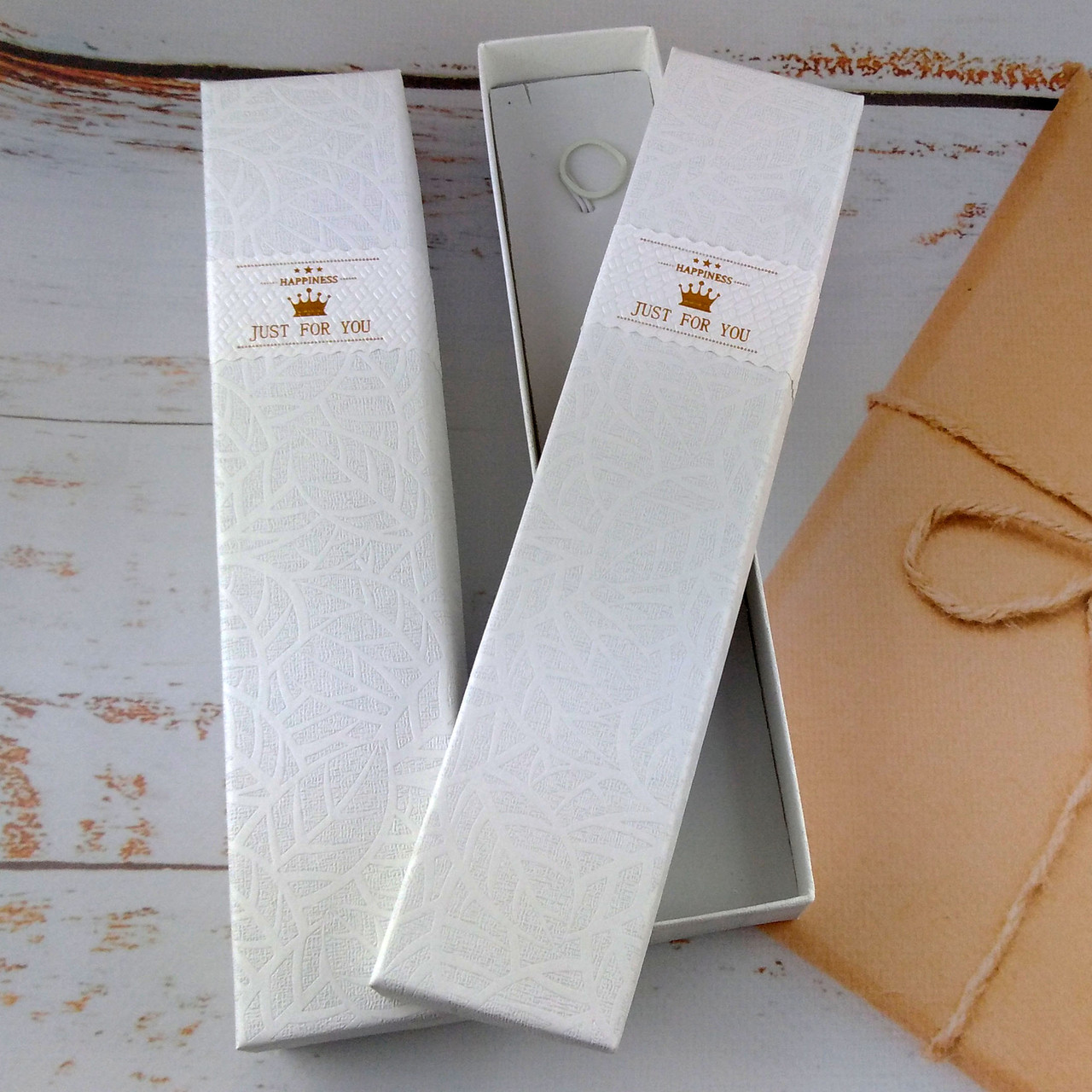 Подарочная коробочка для браслетов Just for you Белая