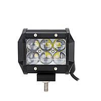 Автофара балка  LED на крышу (6 LED) 5D-18W-SPOT