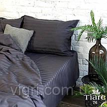 "Постельное белье, евро комплект, сатин страйп ""Stripe"", Вилюта «Viluta» VSS 76, фото 2"