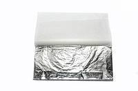 Поталь вільна срібло імітація в аркушах 16х16 см 100 аркушів Nazionale, 9715010