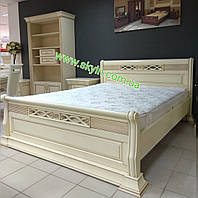 Кровать Кармен из массива дуба