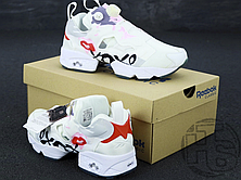 Женские кроссовки Reebok InstaPump XoXo Valentines Day White/Red V69142, фото 3