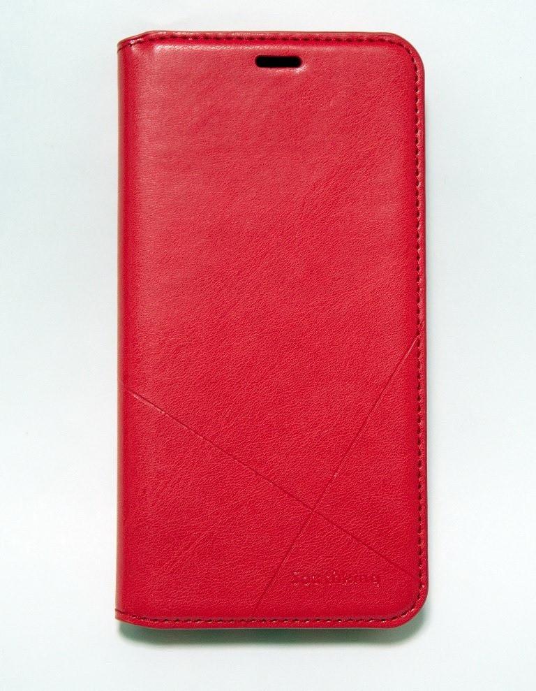 Чехол-книжка для смартфона Samsung Galaxy A6 2018 A600 красная MKA