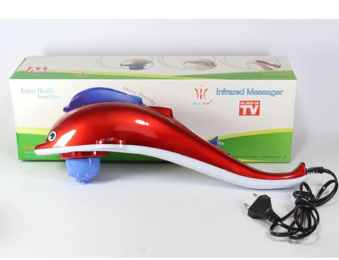 Инфракрасный ручной массажер DOLPHIN mini для всего тела