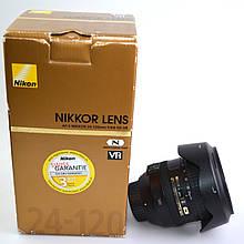Объектив Nikon AF-S Nikkor 24-120mm f/4G ED VR б/у  / в магазине