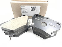 Колодки гальмівні задні дискові BP1732 04466-52030.. MATOMI