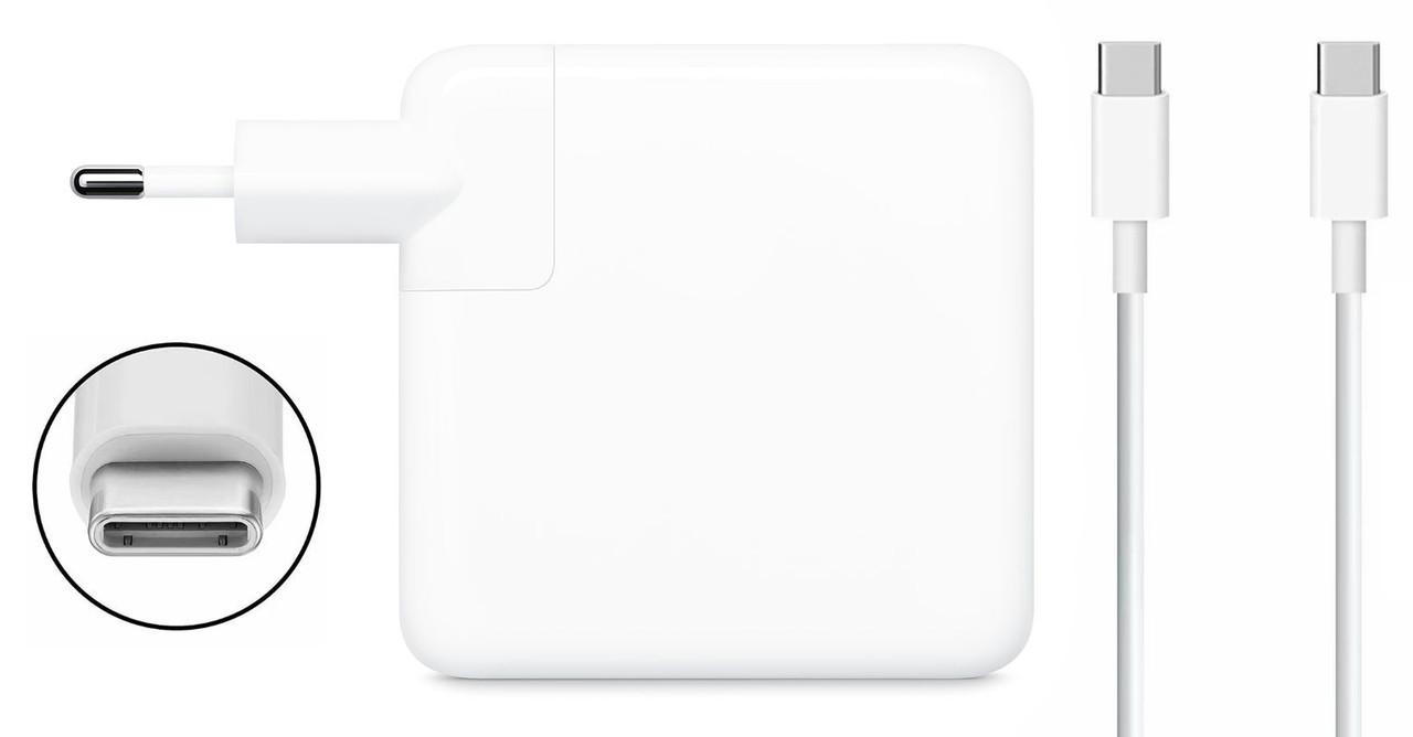 Блок питания Dellta 61W для Apple Macbook (20V 61W 3A) Type C