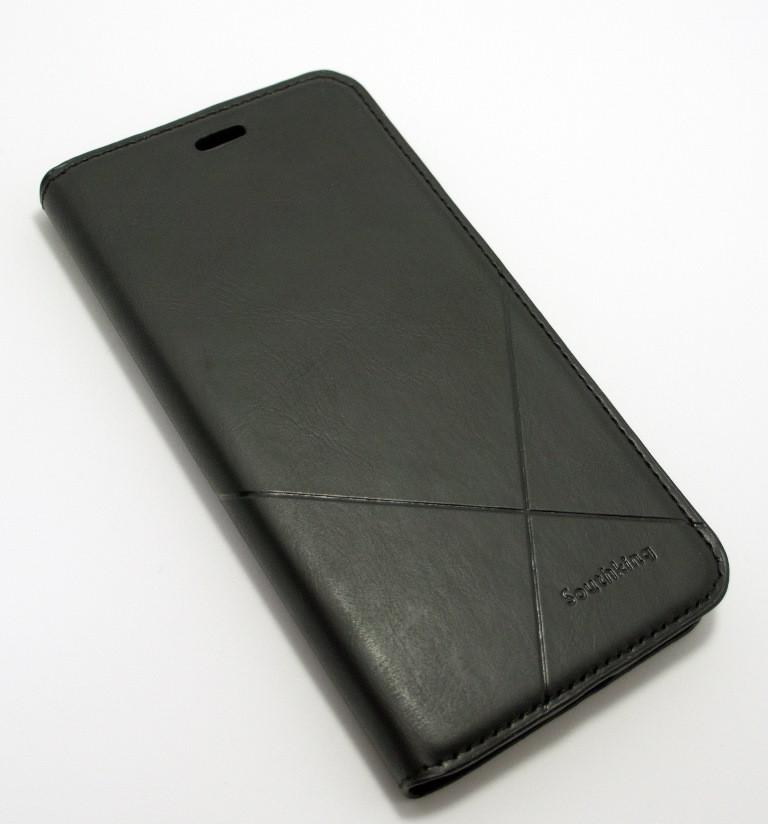 Чехол-книжка для смартфона Xiaomi Redmi Note 5a Prime чёрная MKA