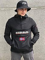 Куртка-анорак Napapijri spring-summer black