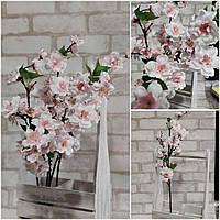 Яблуневий пишний цвіт, штучна інтер'єрна гілочка, для декору приміщення, Польша, вис. 60 см., 46 грн.