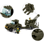 Конструктор SLUBAN серии Армия Сухопутные войска Зенитная установка + тягач, M38-B7300, 221 деталь, фото 4