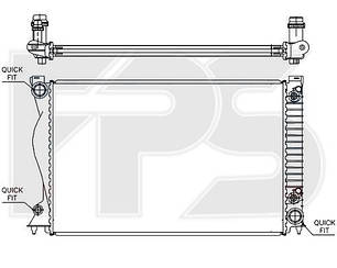 Радиатор AUDI A6 05-11 (C7)