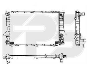 Радиатор AUDI 100 91-94