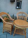 """Кресла """"Капля"""" с круглым королевским столом, фото 3"""