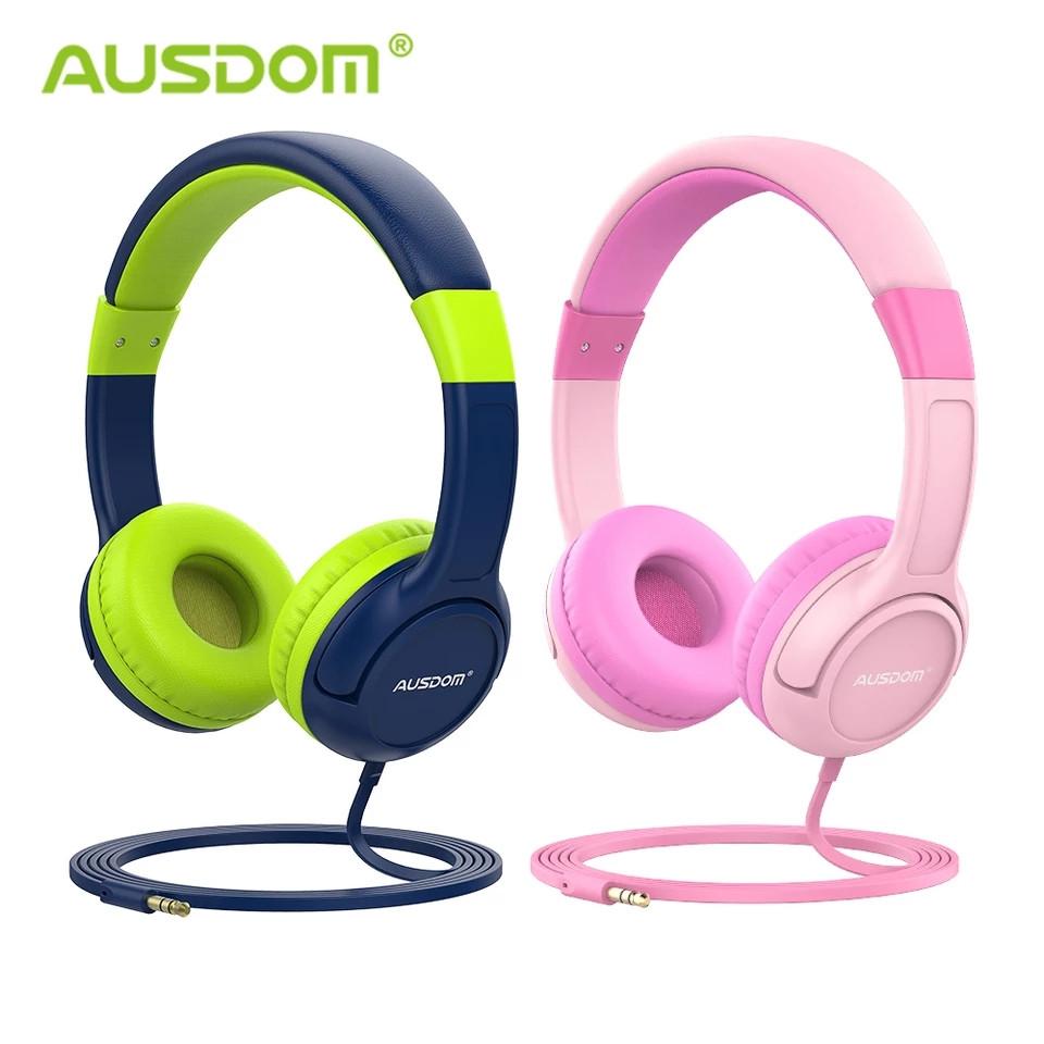Ausdom K1 модні дротові навушники для дітей (у наборі 2 шт.)