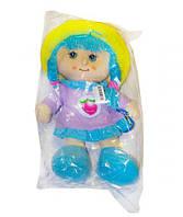 Мягкая музыкальная кукла в капюшоне фиолетовый 19R14AB/20R14