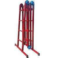 Лестница - трансформер 4×4 металлическая