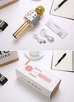 Беспроводной Bluetooth микрофон-караоке WSTER WS-858