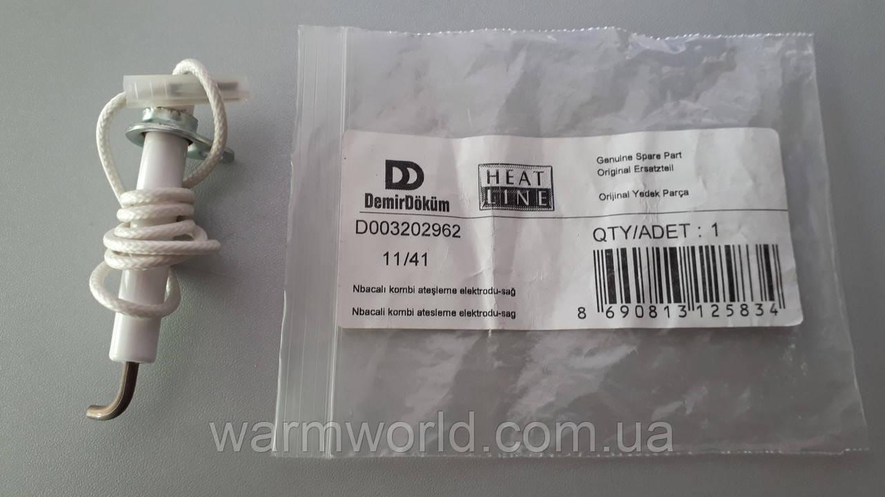 D003202962 Электрод розжига Lynx (дым) правый Protherm