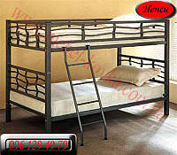 """Детская металлическая кровать """"Ненси""""(90 см на 190 см)"""