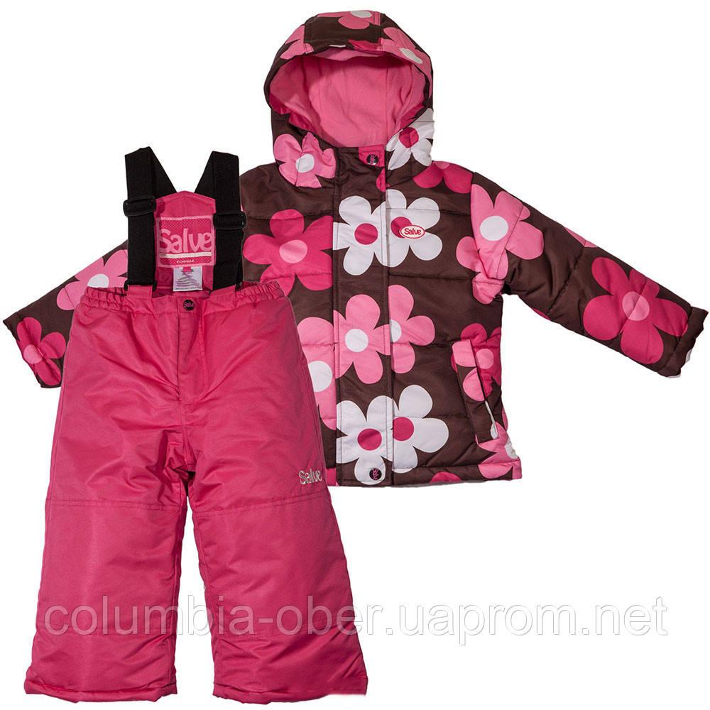 Зимний комплект для девочки Salve by Gusti SWG 4817. Размер 128.