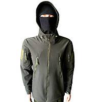 Тактическая куртка Soft Shell Military Plus Олива
