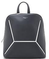 Женский рюкзак David Jones 6261-2 black David Jones (Дэвид Джонс) - оригинальные сумки, клатчи и рюкзаки, фото 1