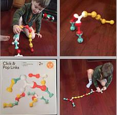 Игрушка Конструктор-головоломка Kid O Click & pop links (10455), фото 3