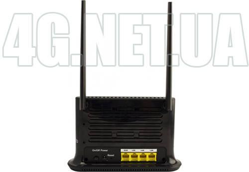 Мощный по приёму стационарный 4G/3G wifi роутер для симкарты с двумя выходами на наружную антенну Quanta Une, фото 2
