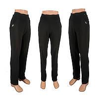 Женские классические леггинсы брюки больших размеров черные и синие