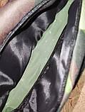 Сумка на пояс off white камуфляж Унисекс/Спортивные барсетки бананка только опт, фото 4
