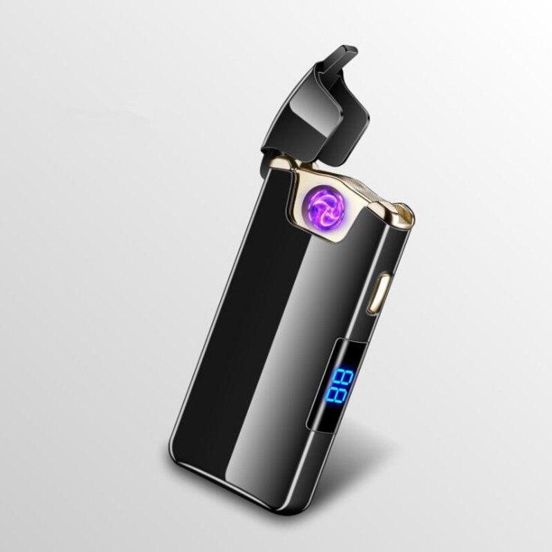 Электроимпульсная USB зажигалка Circular black 101_1