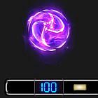 Электроимпульсная USB зажигалка круговая дуга Circular black 101_1, фото 4
