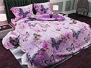 Комплект постельного белья Бабочка евро 11121