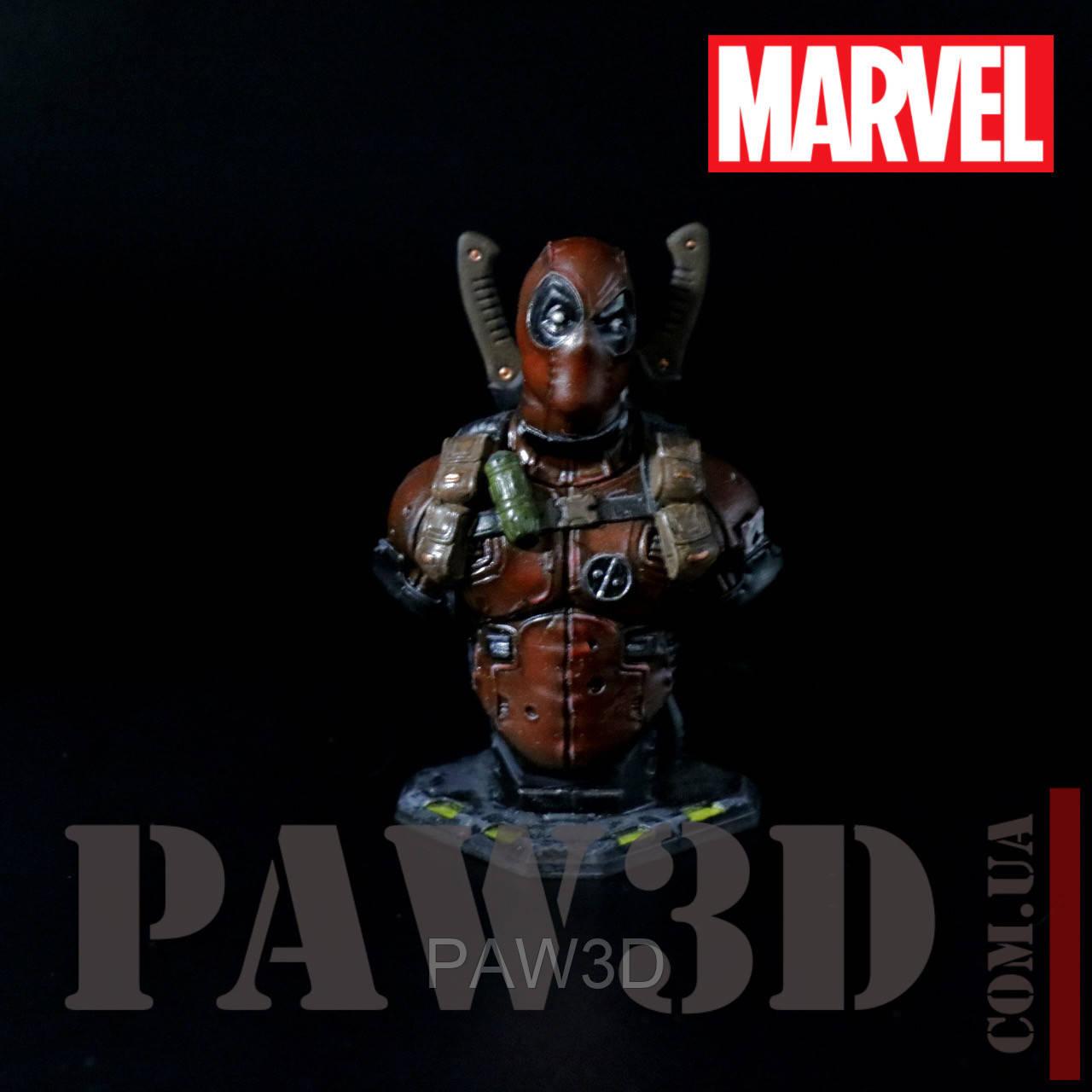 Deadpool высокодетализированная миниатюра бюст