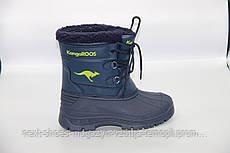 Ботинки женские синие Kangaroos США зимние арт  модель 4578