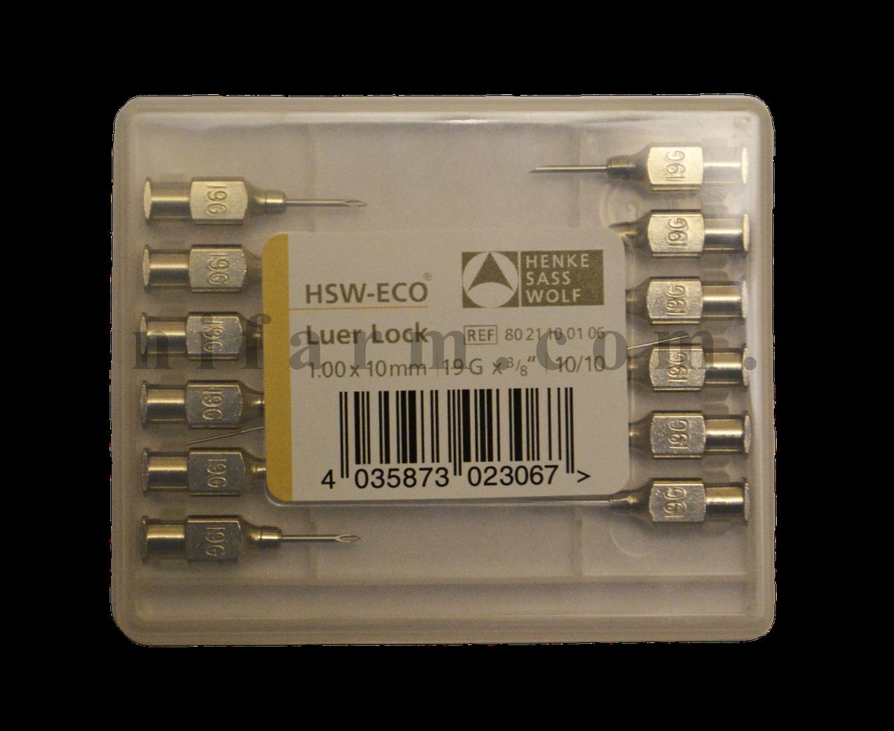 Игла HSW-ECO 1,00х10 мм