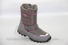 Ботинки женские серые Kangaroos США зимние арт  модель 4581