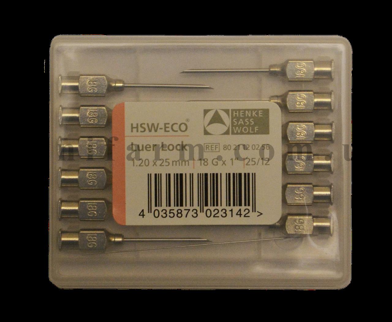 Игла HSW-ECO 1,20х25 мм