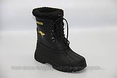 Ботинки женские черные Kangaroos США зимние арт  модель 4577