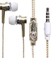 Наушники вакуумные с микрофоном DK75i, проводные наушники хорошего качества SMU Shop