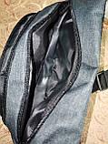 Сумка на пояс off white ткань мессенджер pvc спортивные барсетки сумка только опт, фото 5