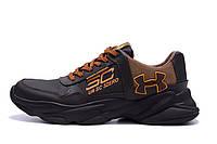 Мужские кожаные кроссовки  Under Armour UA SC 3 Zero (реплика), фото 1